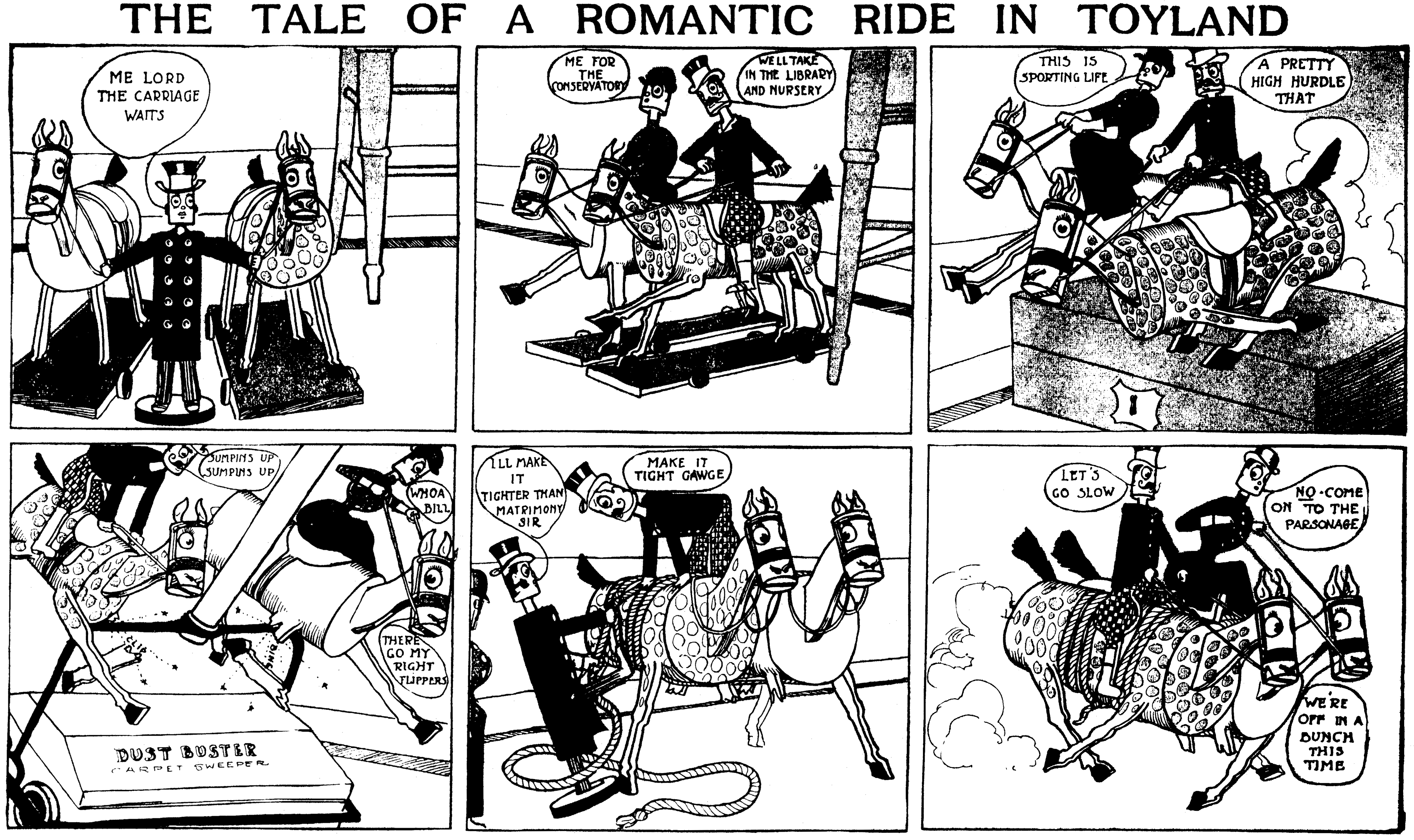 The Tale of a Romantic Ride in Toyland