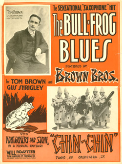 Bullfrog Blues sheet music