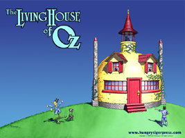 Living House of Oz Wallpaper Image