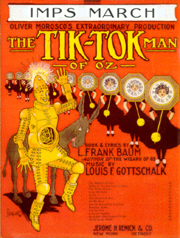 Original Sheet Music Cover