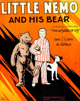Little Nemo and His Bear