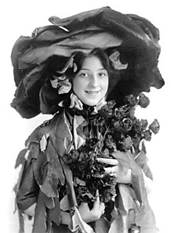 Anna Fitzhugh as a Poppy Girl