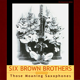 Six Brown Brothers CD Cover