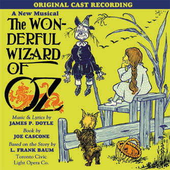 'The Wonderful Wizard of Oz' CD Cover